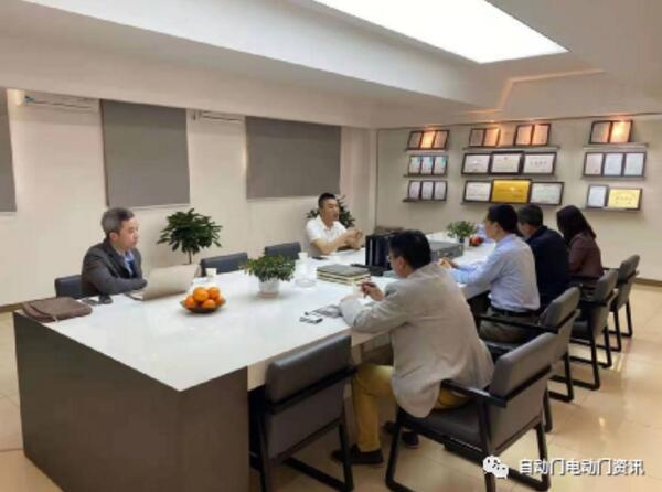 协会潘冠军副秘书长一行赴北京博斯迈河北工厂调研考察