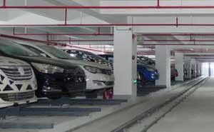 上海汽车集团整车仓储立体车库案例