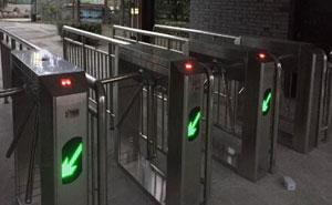 宁波第一学堂三辊闸检票系统案例 - 宁波中出网-城市出入口设备门户