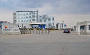 中国石油大庆石化公司伸缩门工程案例 - 大庆中出网-城市出入口设备门户