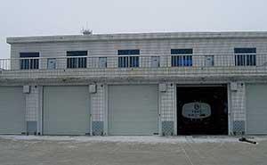 包头中国航油车库门案例 - 包头中出网-城市出入口设备门户