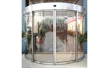 自动弧形门 - 半圆弧形自动门 - 中出自动门网