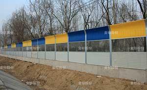 大广高速固安段声屏障护栏案例 - 廊坊中出网-城市出入口设备门户
