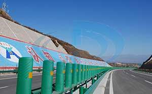 河源高速公路惠州段护栏案例 - 惠州中出网-城市出入口设备门户