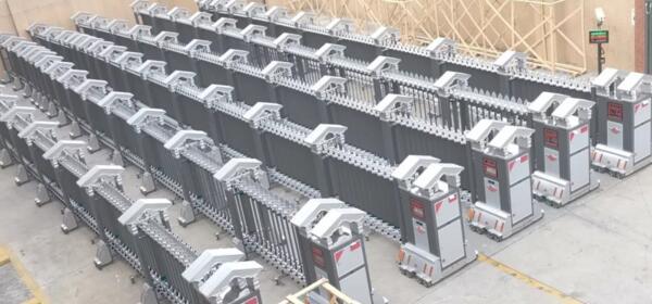 电动伸缩门红韵309系列(铝型材)