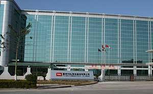 惠州TCL移动通信有限公司伸缩门案例 - 惠州中出网-城市出入口设备门户