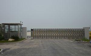 镇江机场智能安全伸缩平移门工程案例 - 镇江中出网-城市出入口设备门户