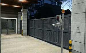 承德江南福郡-开泰LB智能安全伸缩平移门工程案例 - 承德中出网-城市出入口设备门户