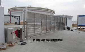 日照翰坤能源发展有限公司安宝SLB智能安全平移门工程案例