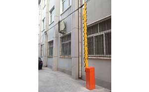 文明里道闸案例 - 廊坊中出网-城市出入口设备门户