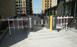 中南东方夏威夷道闸案例 - 菏泽中出网-城市出入口设备门户