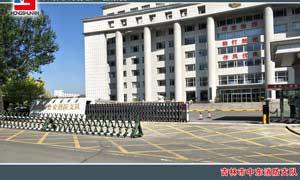 吉林市中东消防支队电动门案例 - 吉林中出网-城市出入口设备门户