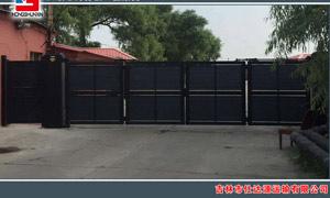 吉林市仕达源运输有限公司悬浮折叠门案例 - 中出悬浮折叠门网
