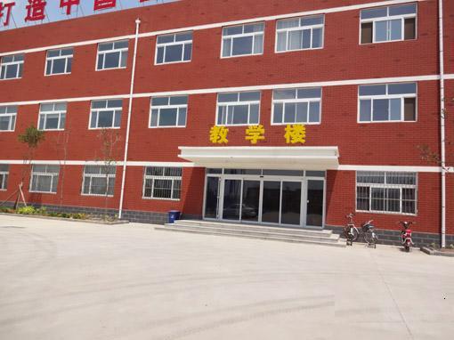 山东广域科技教学楼自动门案例 - 东营中出网-城市出入口设备门户