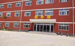 山东广域科技教学楼自动门案例