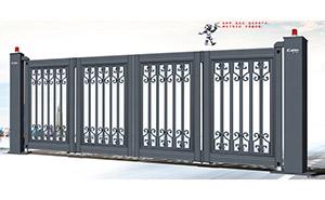 电动折叠门 - 悬浮折叠门XFZD-X4A - 中出悬折门网