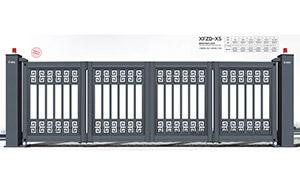 电动折叠门 - 悬浮折叠门XFZD-X5 - 中出悬折门网