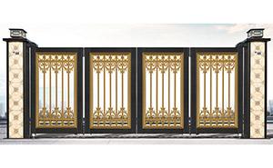 电动折叠门 - 悬浮折叠门XFZD-X6A - 中出悬折门网