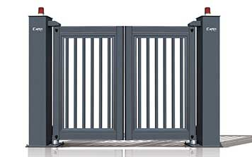 电动折叠门 - 悬浮折叠门XFZD-X2A - 中出悬浮折叠门网