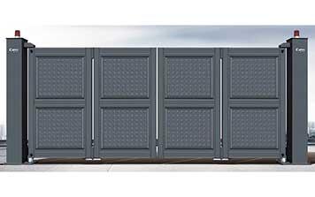 电动折叠门 - 悬浮折叠门XFZD-X9 - 中出悬浮折叠门网