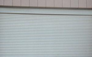 彩钢板卷帘门 - 彩色卷闸门 - 中出卷帘门网