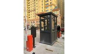 荣城金悦华俯道闸案例 - 威海中出网-城市出入口设备门户