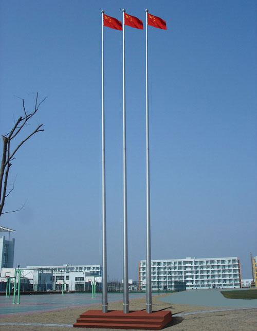 旗杆 - 不锈钢锥形旗杆 - 中出旗杆网