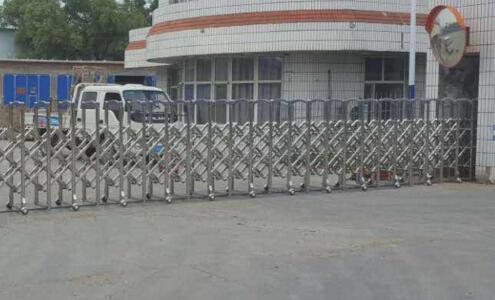 杭州科技职业技术学院采购杭州出安智能电动伸缩门