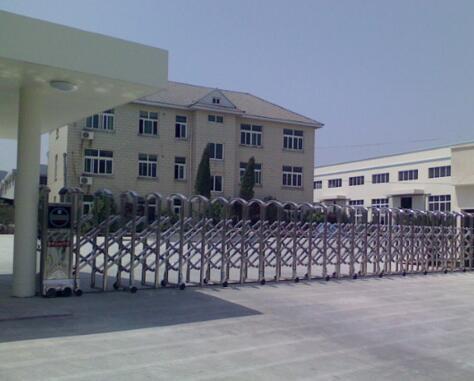 杭州钱江制冷集团有限公司一直信赖杭州出安智能电动伸缩门