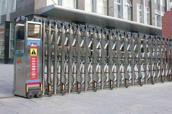杭州干将实业有限公司选用杭州出安智能电动伸缩门
