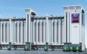 铝合金伸缩门 - 飞豹-208B - 杭州中出网-城市出入口设备门户