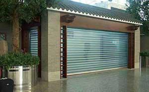 水晶卷帘门 - 水晶卷帘门 - 杭州中出网-城市出入口设备门户