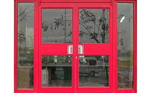 双开肯德基门 - 肯德基门 - 杭州中出网-城市出入口设备门户