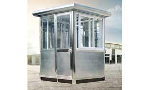 不锈钢岗亭 - 不锈钢岗亭GDHT-19 - 杭州中出网-城市出入口设备门户