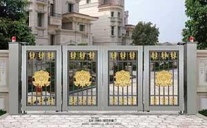 钢艺大门 - 钢艺折叠门-GY-1003