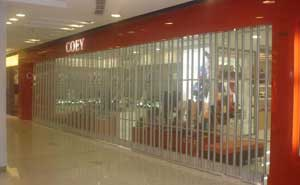 水晶卷帘门 - 水晶卷帘门2 - 杭州中出网-城市出入口设备门户
