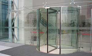 旋转门 - KA071-钻石之星 - 济南中出网-城市出入口设备门户