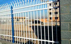 鋅钢护栏 - 锌钢护栏双向弯头型 - 济南中出网-城市出入口设备门户