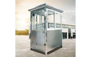 不锈钢岗亭 - 不锈钢岗亭GDHT-16 - 成都中出网-城市出入口设备门户
