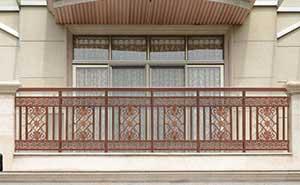 铝艺护栏 - 护栏FGL-H6009 - 成都中出网-城市出入口设备门户