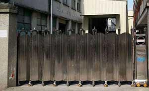 宿州科技食品有限公司电动伸缩门案例 - 宿州中出网-城市出入口设备门户