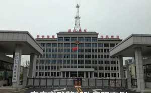 武警安庆市支队电动伸缩门案例