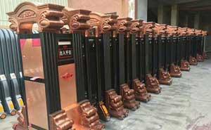 安阳市三兴机械工业有限责任公司伸缩门案例
