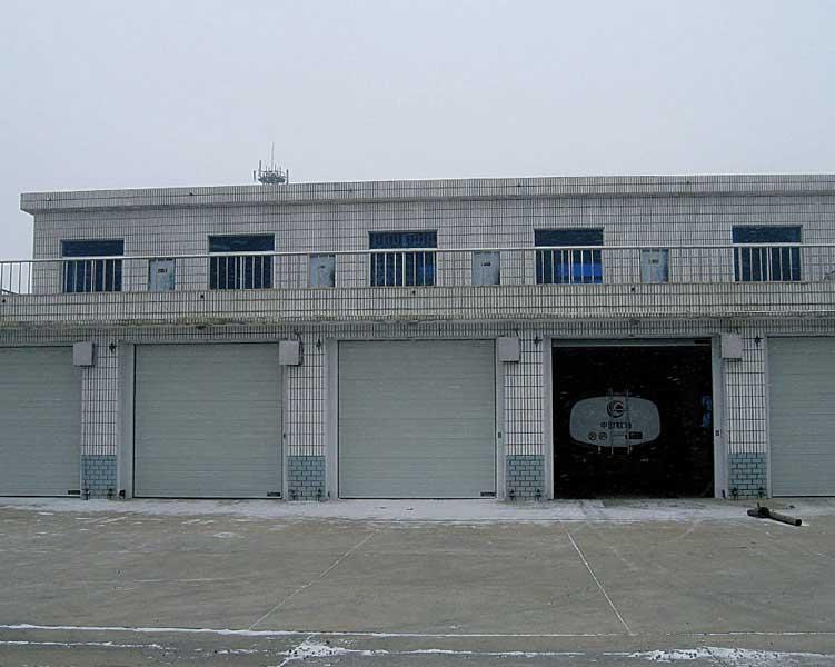 包头出安智能车库门成功进驻中国航空油料集团有限公司