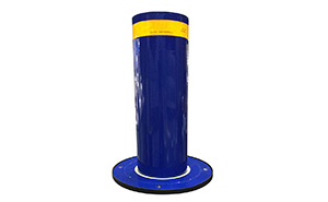 升降柱 - 升降柱蓝色 - 包头中出网-城市出入口设备门户