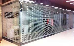 水晶卷帘门 - 水晶卷帘门4 - 包头中出网-城市出入口设备门户