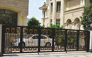 铁艺大门 - 铁艺大门 - 上海中出网-城市出入口设备门户