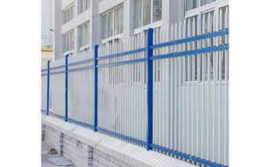 鋅钢护栏 - 锌钢护栏三横栏 - 上海中出网-城市出入口设备门户