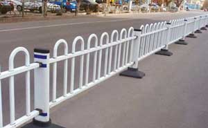 道路护栏 - 京式道路护栏7 - 上海中出网-城市出入口设备门户