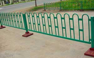 道路护栏 - 京式道路护栏9 - 上海中出网-城市出入口设备门户